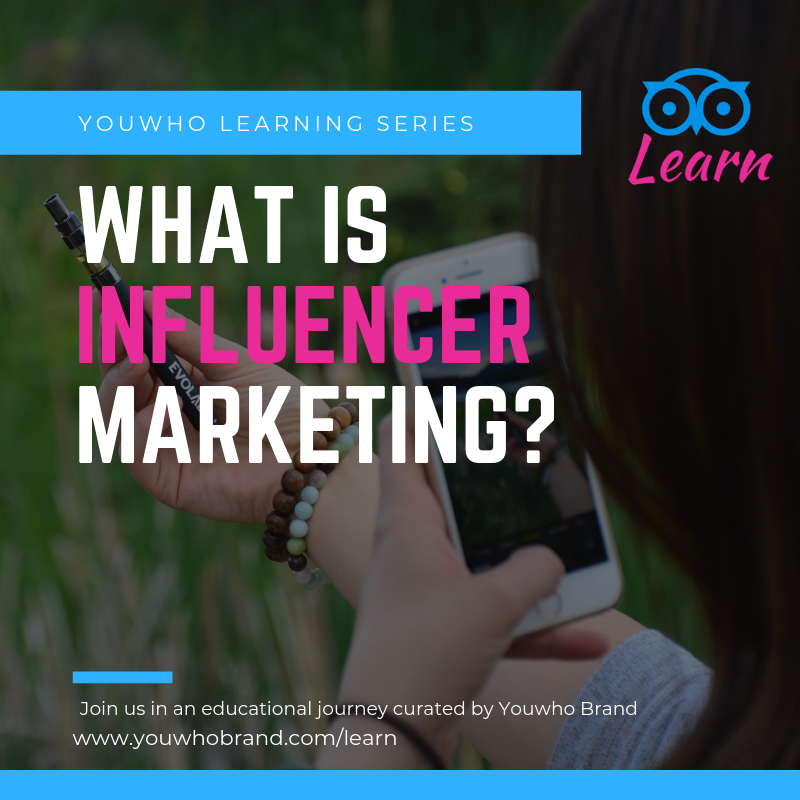 What is influencer marketing? Youwho Learn Series