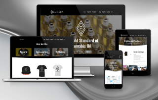 Eureka Vapor Website