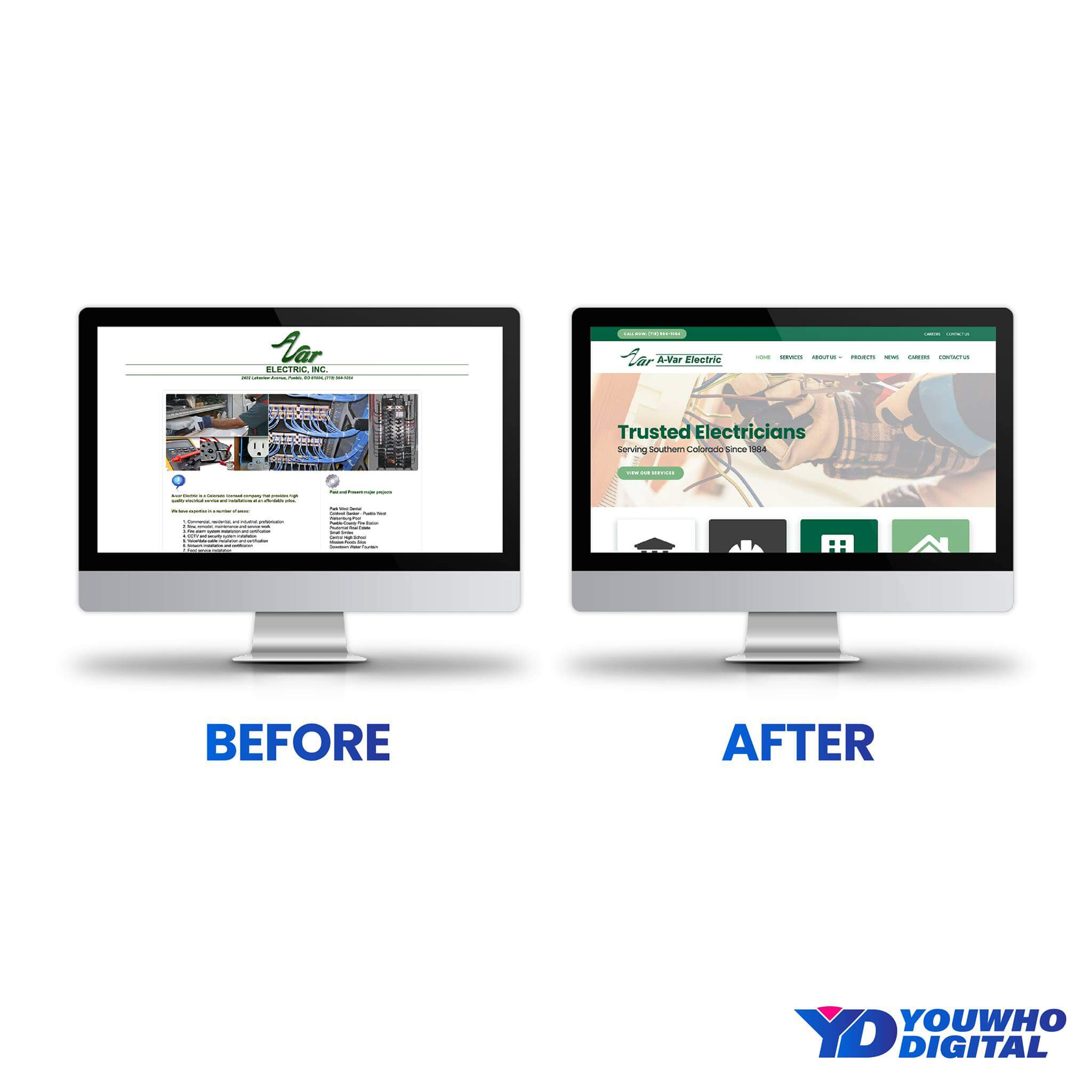 Top Small Business Website Design Company | Youwho Digital